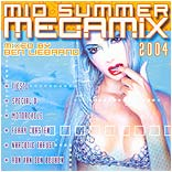 CD-Cover des Mid Summer Megamix 2004