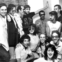 Photo: Barry Lederer and friends about 1976